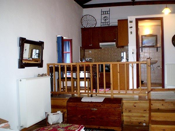 Fully equipped kitchen. Cretan diet. guest house Agioklima. Crete