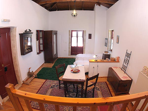 Livingroom. traditional house. Crete Petrokefalo