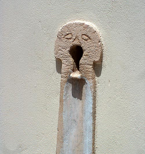 stone water tap