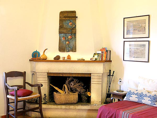 Traditional houses. Four people dining room. Heraklion Crete